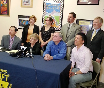 Houston press conference